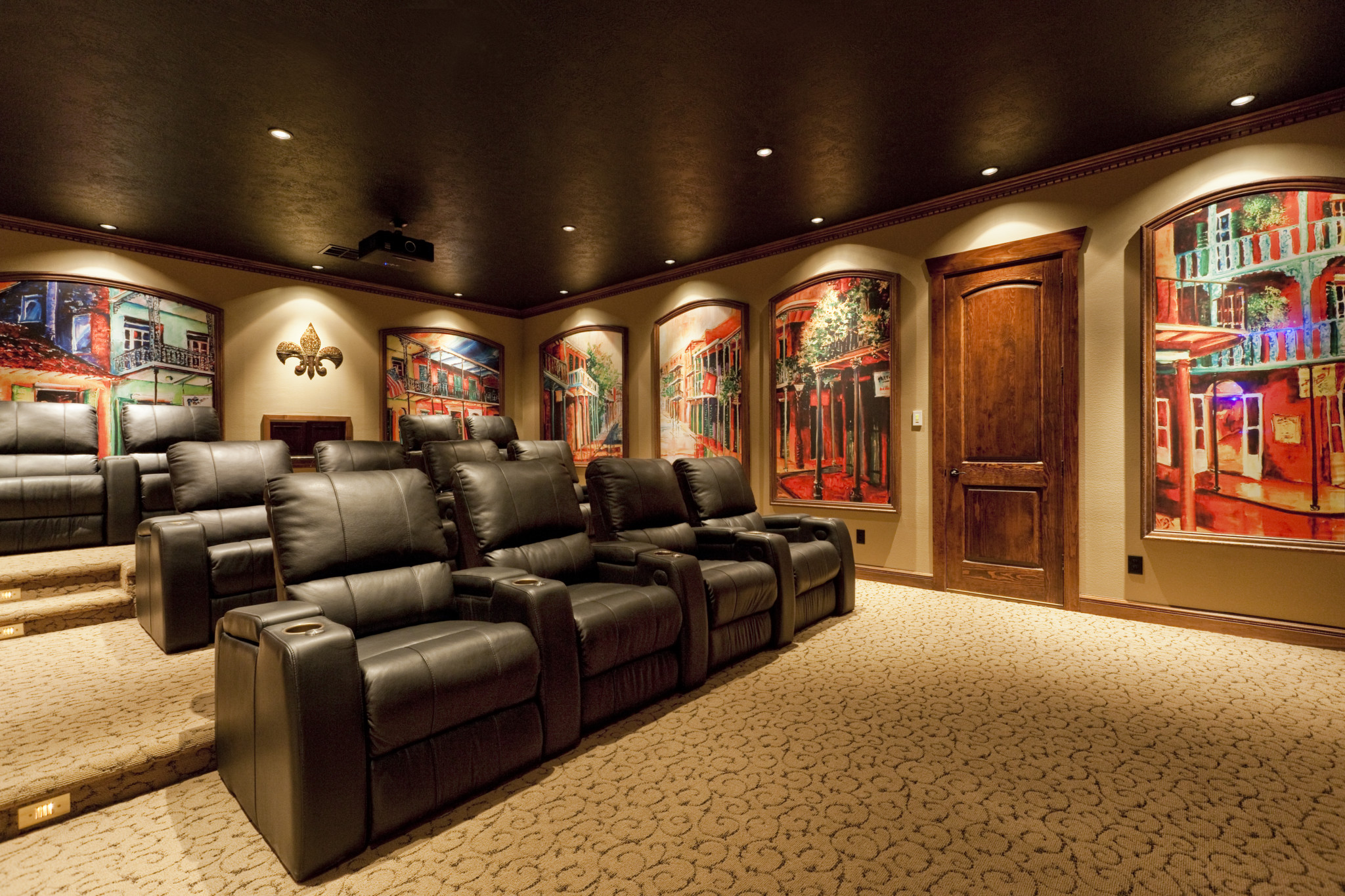 Previous. ; . French Quarter Home Cinema ...