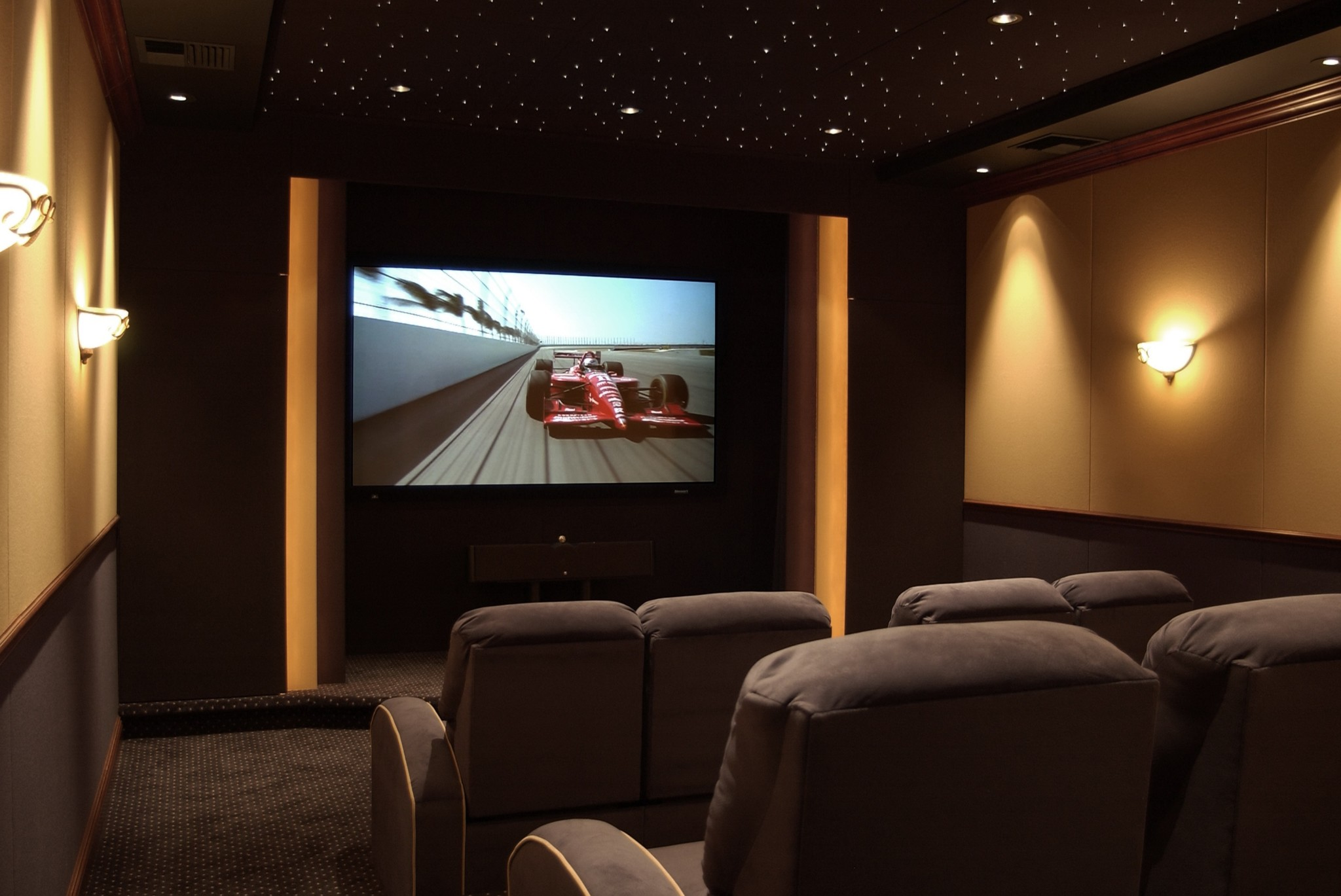 Kasabe Designs Inc-Custom Home Cinema Interiors